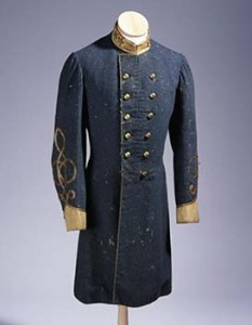 The frock coat of Lt. Col. Thomas Ruffin will be one of the items shown in the webcast