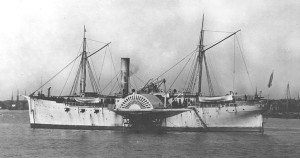 Photo # NH 61919 U.S.S. Santiago de Cuba. Photographed during the Civil War - Courtesy of Naval History and Heritage Command